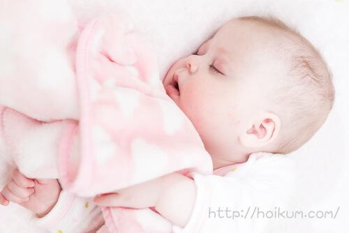 寝顔がかわいい子ども