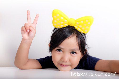 5歳 幼稚園児の女の子